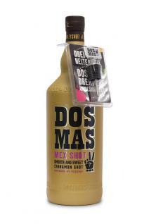 DOS MAS Tequila verfeinert mit Zimtlikör 3, 0 Liter incl. Ausgiesser