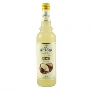 17, 13€/l Il Doge Sirup Kokos 0, 7 Liter für Cocktail oder Kaffee