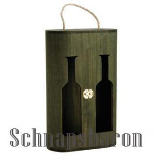 Holzbox Duo für 2 Flaschen - Vorschau