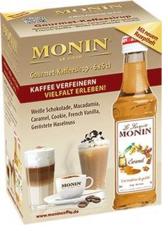 43, 30€/l MONIN Mini Coffee Set 6 x 0, 05 Liter