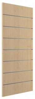 Ladeneinrichtung Lamellenwand Deko Wand Accessoire Aufhänger 500 x 1200 mm - Ahorn