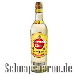 Havana Club Ron Anejo 3 Jahre 1, 0 Liter