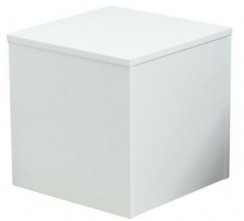 Ladeneinrichtung Podest für Schaufensterpuppen Sockel Weiß 45 x 45 x 45 cm