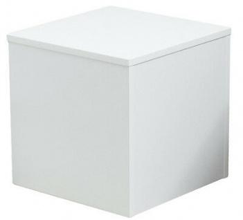 Ladeneinrichtung Podest für Schaufensterpuppen Sockel Weiß 50 x 50 x 50 cm