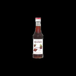 43, 96€/l Monin Schokolade (braun) Sirup 0, 25 Liter
