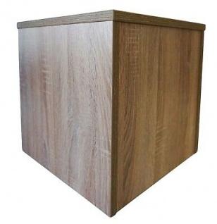 Ladeneinrichtung Podest für Schaufensterpuppen Eichesägerau 40 x 40 x 40 cm