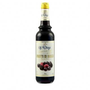17, 13€/ Il Doge Sirup Waldfrüchte 0, 7 Liter für Cocktail oder Kaffee