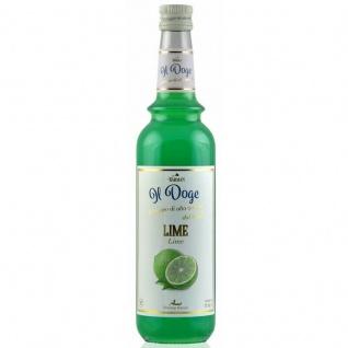 17, 13€/ Il Doge Sirup Limette 0, 7 Liter für Cocktail oder Kaffee