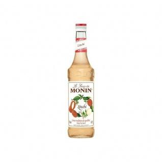 18, 56€/l Monin Litschi Sirup 0, 7 Liter