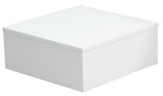 Ladeneinrichtung Podest für Schaufensterpuppen Sockel Weiß 50 x 50 x 20 cm