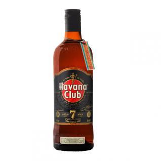 Havana Club Ron Anejo 7 Jahre 0, 7 Liter Neues Flaschendesign