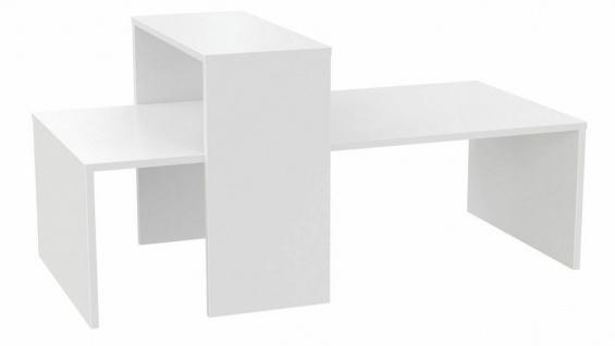 Ladeneinrichtung Präsenter Ladenausstattung Mittelraumpräsenter weiß 2-teilig