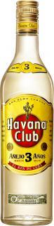 Havana Club Ron Anejo 3 Jahre 0, 7 Liter