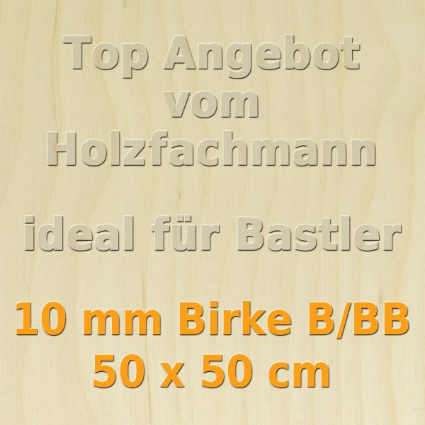 Sperrholz 22,71€//m² 6 mm Birke Sperrholzplatte Bastelholz  5 Platten 50 x 30 cm