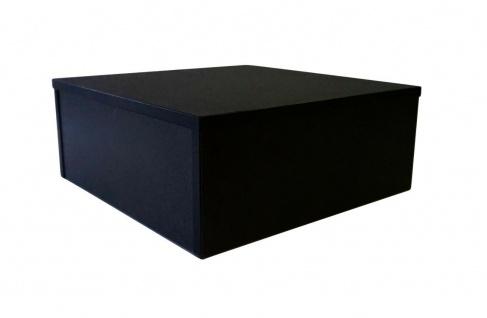 Ladeneinrichtung Podest für Schaufensterpuppen Sockel Schwarz 50 x 50 x 20 cm