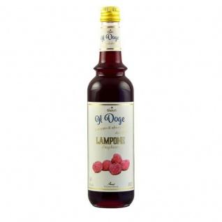 17, 13€/l Il Doge Sirup Himbeere 0, 7 Liter für Cocktail oder Kaffee