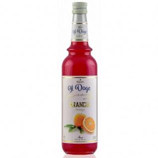 17, 13€/ Il Doge Sirup Orange 0, 7 Liter für Cocktail oder Kaffee