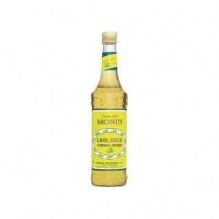 17, 13€/l Monin Lime Juice Cordial ? Bar Mixer Sirup 0, 7 Liter