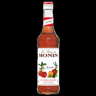 21, 41€/l Monin Acerola Sirup 0, 7 Liter