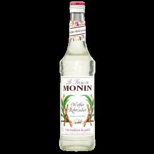 17, 13€/l Monin weisser Rohrzucker Sirup 0, 7 Liter
