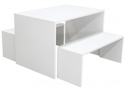 Ladeneinrichtung Präsenter Eiche sägerau Tisch Ladenausstattung Ladenmobiliar Ladentisch
