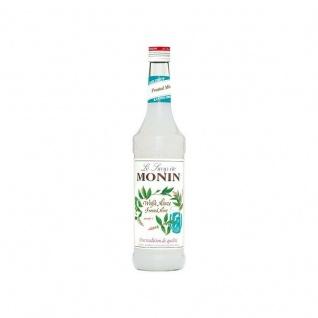 17, 13€/l Monin Weiße Minze Sirup 0, 7 Liter