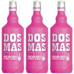 DOS MAS PINK SHOT mit Vodka 3 x 0, 7 Liter