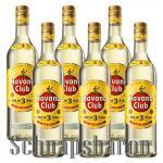 Havana Club Ron Anejo 3 Jahre 6 x 1, 0 Liter