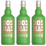 Dos Mas Kiss SHOT mit Vodka 3 x 0, 7 Liter 17 % vol