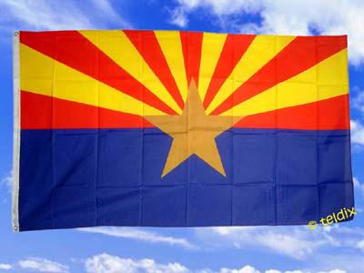 Fahne Flagge Arizona 150 X 90 Cm - Vorschau