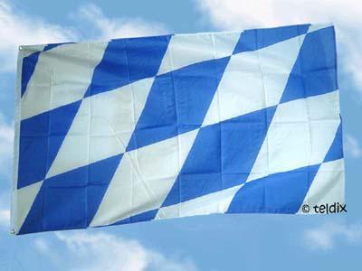 Fahne Flagge BAYERN GROSSE RAUTEN 150 x 90 cm