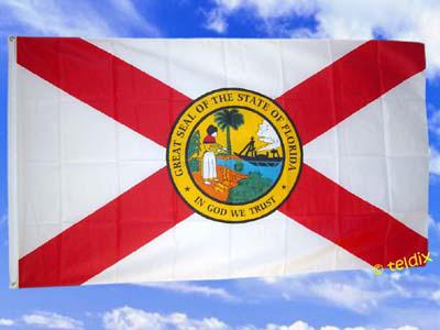 Fahne Flagge FLORIDA 150 x 90 cm