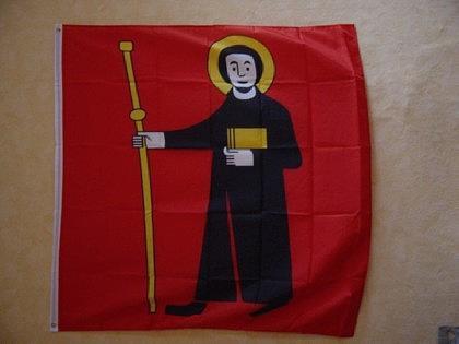 Fahne Flagge GLARUS 120 x 120 cm