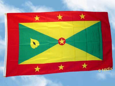 Fahne Flagge GRENADA 150 x 90 cm