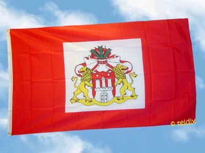 Fahne Flagge HAMBURG SENAT 150 x 90 cm