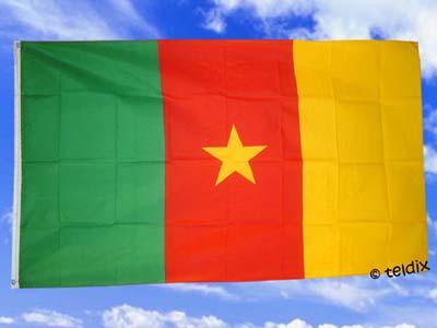 Fahne Flagge Kamerun 150 X 90 Cm - Vorschau