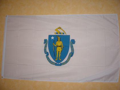 Fahne Flagge Massachusets 150 X 90 Cm - Vorschau