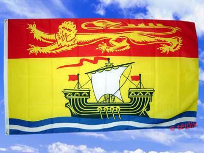 Fahne Flagge New Brunswick 150 X 90 Cm - Vorschau