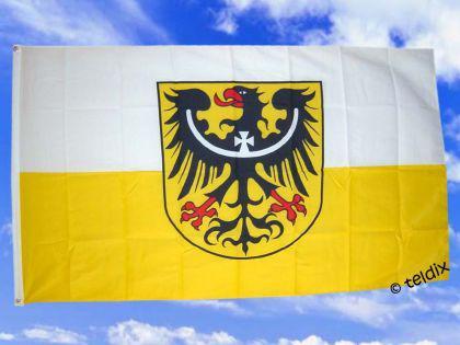 Fahne Flagge NIEDERSCHLESIEN 150 x 90 cm