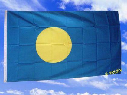 Fahne Flagge PALAU 150 x 90 cm - Vorschau