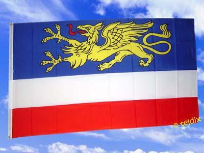 Fahne Flagge ROSTOCK 150 x 90 cm