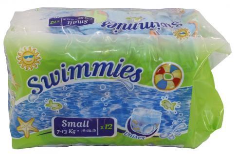 Swimmies Schwimmwindeln Small 7-13kg unisex 12er Pack