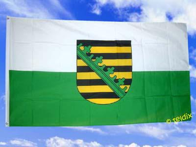 Fahne Flagge SACHSEN 150 x 90 cm