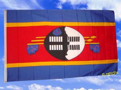 Fahne Flagge SWASILAND 150 x 90 cm