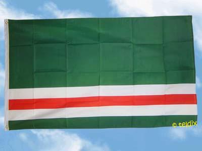 Fahne Flagge TSCHETSCHENIEN 150 x 90 cm