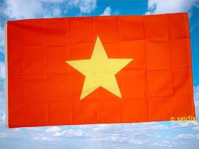 Fahne Flagge VIETNAM 150 x 90 cm
