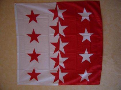 Fahne Flagge WALLIS 120 x 120 cm
