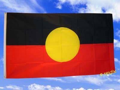 Fahne Flagge Aboriginals 150 X 90 Cm - Vorschau