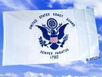 Fahne Flagge COAST GUARD 150 x 90 cm