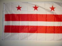 Fahne Flagge D. C. USA 150 x 90 cm
